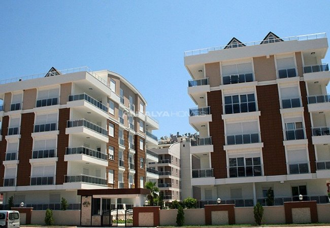 Luxury Konyaalti Apartments in the Residential Complex