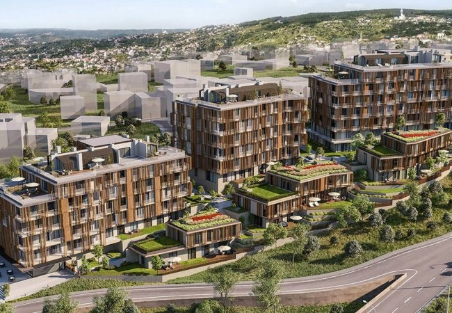 First-class Apartments with Bosphorus View in Beykoz