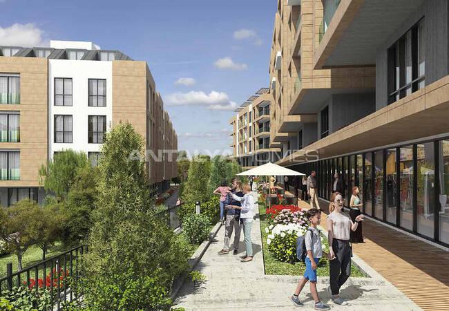 Horizontally Designed New Apartments in İstanbul Beylikdüzü