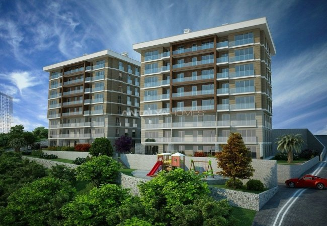 Spacious Flats with Kitchen Appliances in Ortahisar