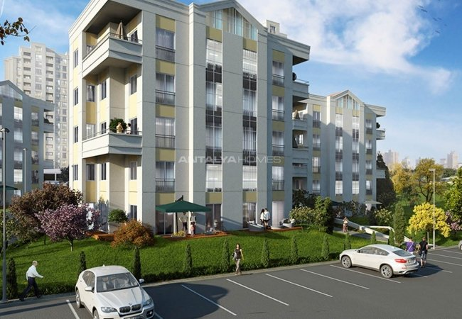 Investment Istanbul Apartments Within Nature in Avcılar