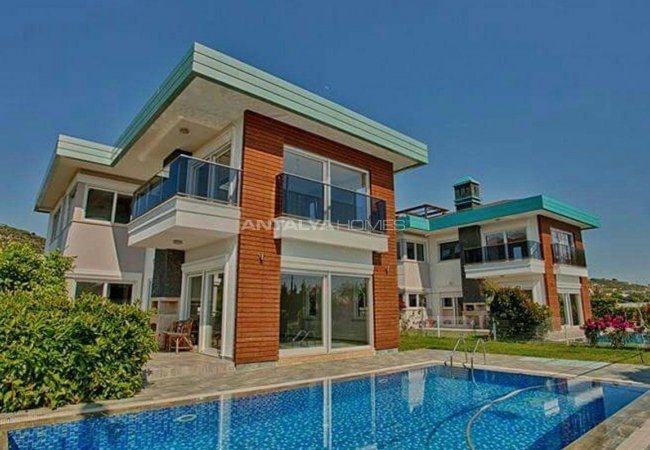 Private Pool Villas Surrounded by Nature in Alanya Turkey