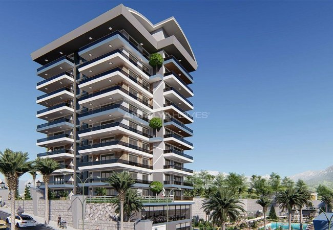 Exclusive Property with Sea and River Views in Alanya