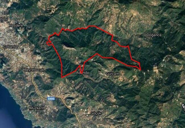 55.000 M² Land with Avocado Trees in Gazipasa Alanya