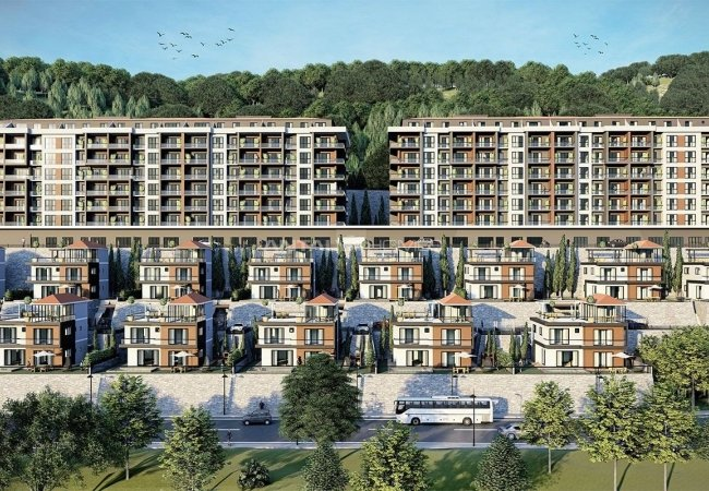 New Properties with Horizontal Architecture in Trabzon