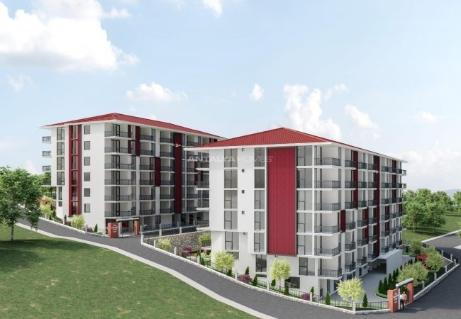 Apartments for Sale Close to the University in Trabzon