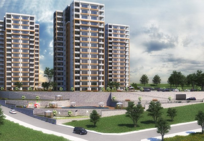 Contemporary New Trabzon Flats Close to Social Amenities