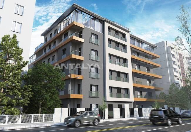 Luxury Apartments in Best Standards in Pendik Coast Istanbul