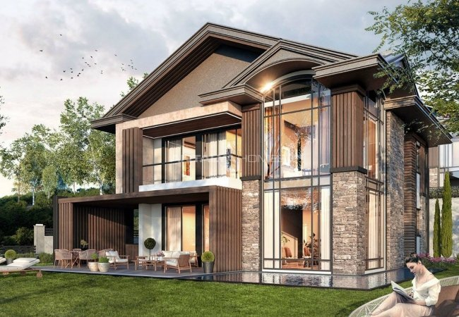 Sapanca Villas Offering Luxurious Lifestyle in Unluce