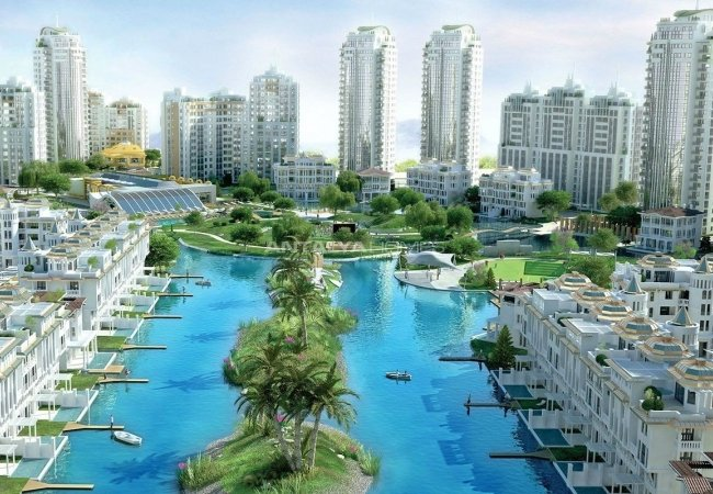 Award-winning Bursa Apartments in the Colossal Complex