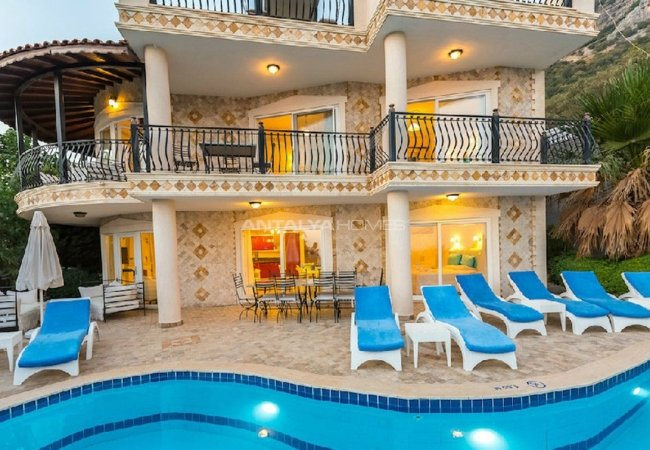 Fabulous Villa for Sale with Sea View in Kalkan