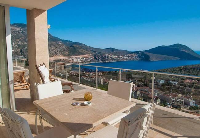 Fantastic Sea View Villa Close to the Center of Kalkan