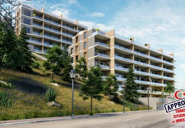 Apartments Surrounded by Forest in Bursa, Mudanya