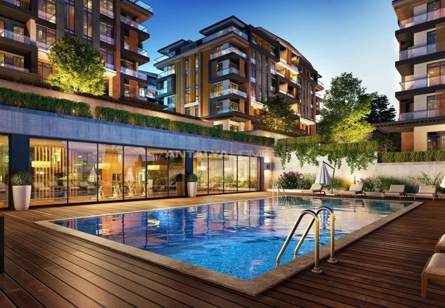 Luxurious Apartments Intertwined with Nature in Kocaeli