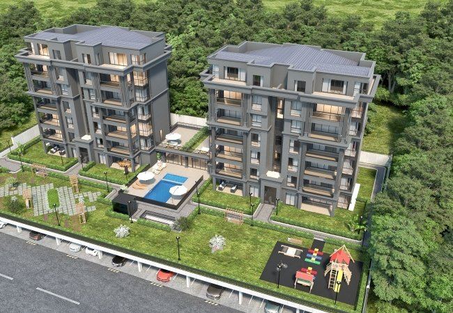 Capacious Real Estate with Uludağ Views in Bursa Nilüfer