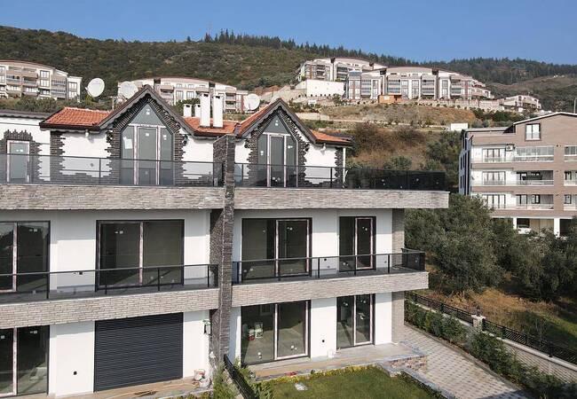 Detached Villas in Bursa Gemlik with Affordable Prices