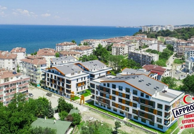 Modern Apartments for Sale 50 M to the Coast