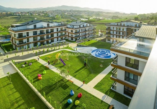 Special Architecture Apartments in Luxury Project of Yalova