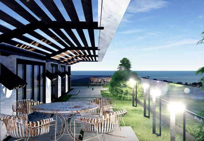 Sea View Villas for Sale with Contemporary Design in Yalova