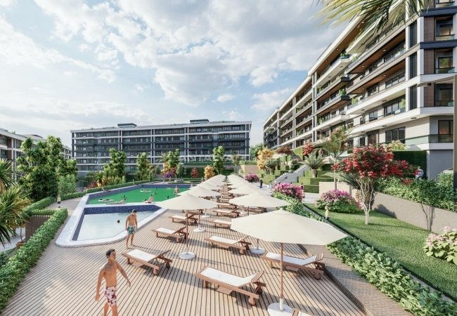 Yalova Apartments for Sale with Rich Communal Facilities