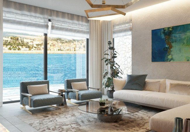 Detached Villas in Bodrum with Astonishing Sea Views