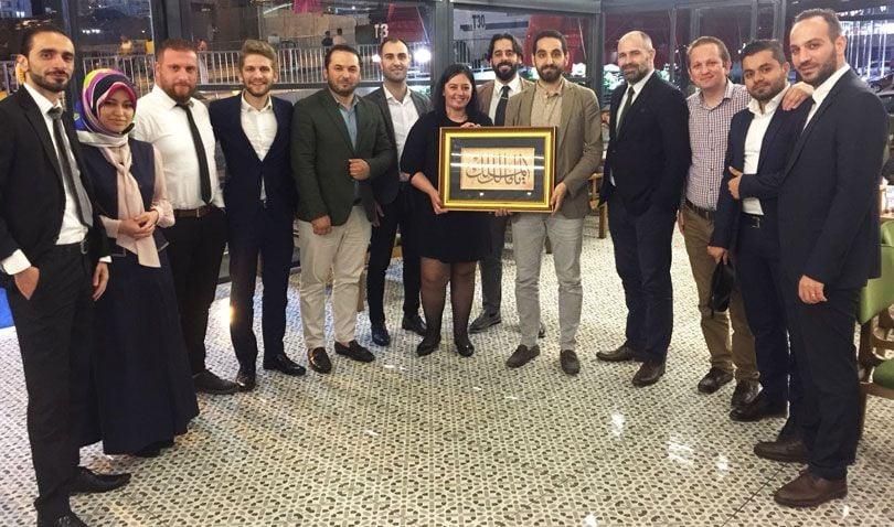 Совместный Ужин Istanbul Homes и Fuzul Grup