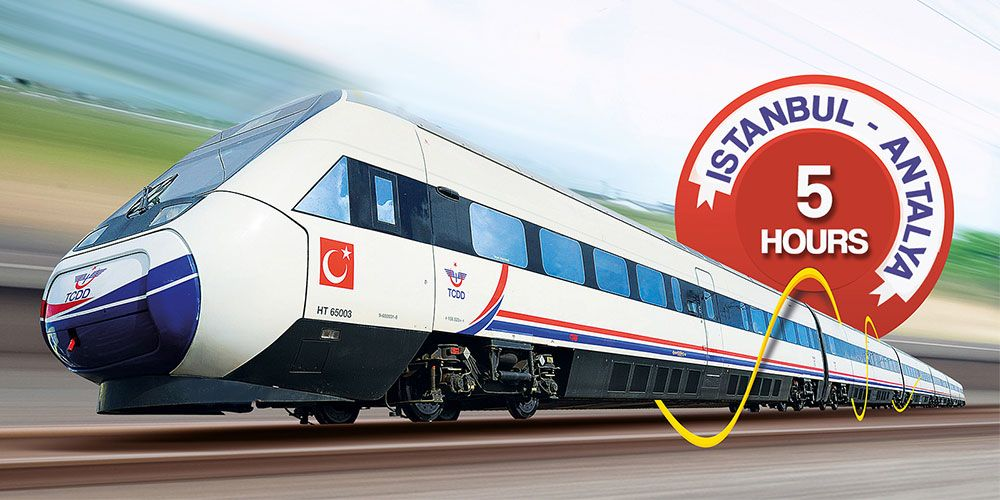 High-Speed Train Connects Istanbul with Antalya