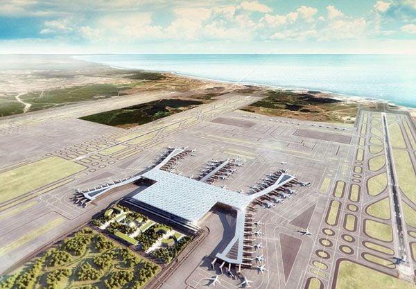 Новый Аэропорт в Стамбуле