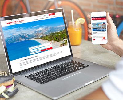Förnyad webbplats för Antalya Homes ® är online nu