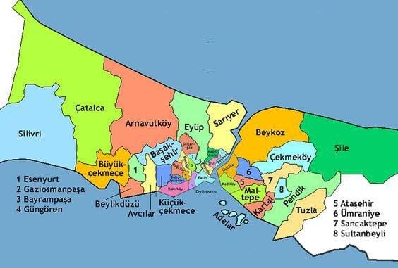 Самые Популярные Районы Стамбула для Покупки Недвижимости