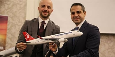 Direct Flight from Antalya to the World by Turkish Airlines
